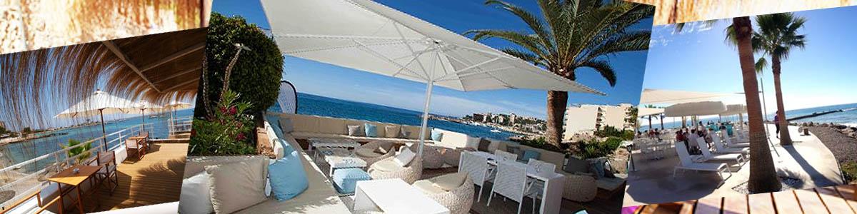 Beach clubs in Southwest Mallorca