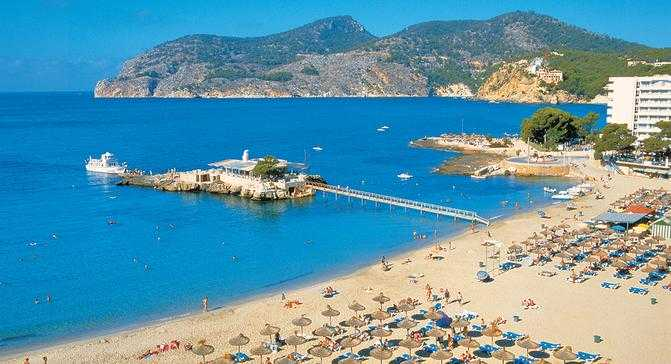 Camp De Mar - Camp De Mar is a quiet but popular resort with a wonderful sand...