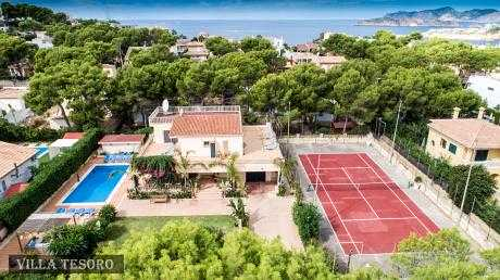 Villa Tesoro, SP12, Villas in Port Adriano, Mallorca