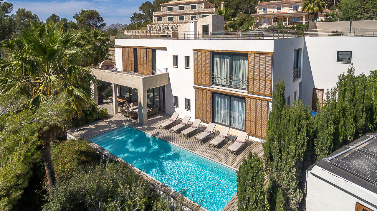 Villa in mallorca an32 villa sleeps 8 villa in port andratx code an32 south west - Hotel puerto de andratx ...